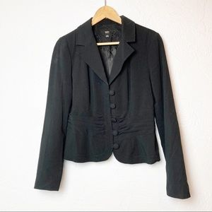 Mossimo Black Blazer with Button detail Size M
